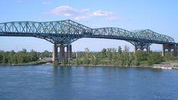 Champlain Bridge Announcement Now: