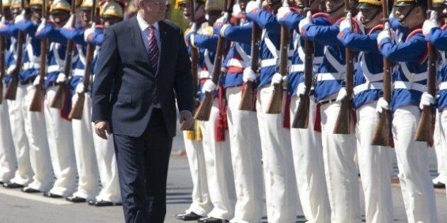 Stephen Harper In Brazil: Free Trade Talks With Mercosur Move