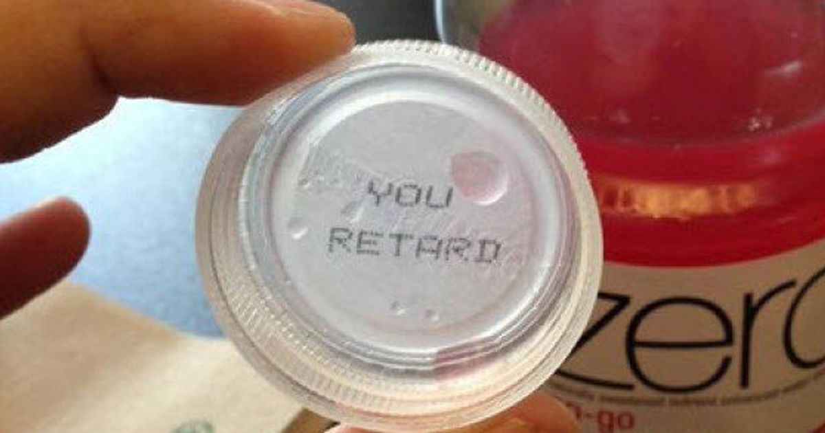 Coca-Cola 'YOU RETARD' Bottle Cap Forces Company To Apologize To