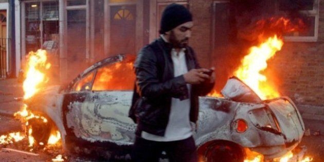 Research In Motion, BlackBerry Maker, Caught In London Riots'