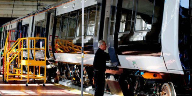Bombardier Workers Strike In Thunder