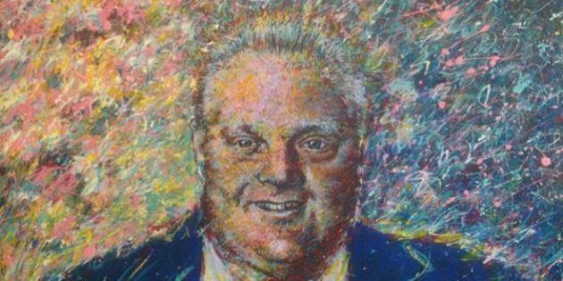 Rob Ford Portrait Unveiled: Councillor Gary Crawford Paints Picture of Toronto