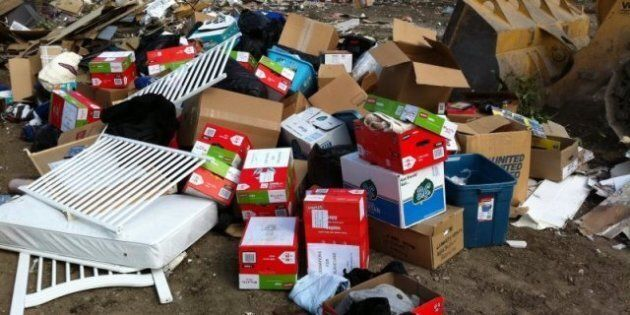 Slave Lake Fire Donations Found In Calgary