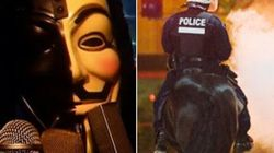 WATCH: Anonymous Demands An End To Police Violence In
