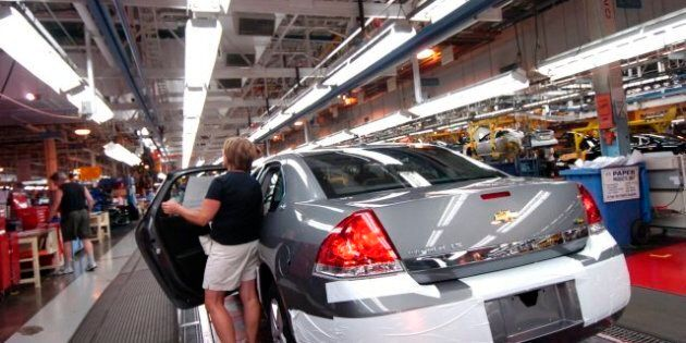 Canadian Auto Workers' Wages Falling Behind U.S., Union