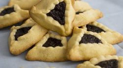 Hamantashen Cookies And Turkish Red Lentil Balls