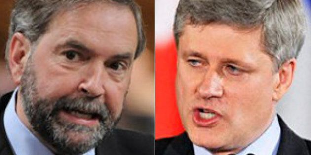 NDP Leading Conservatives: Poll Finds Strong Support For Thomas Mulcair's Party And