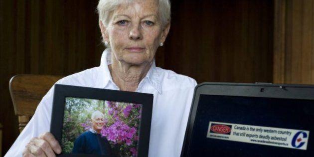 Conservatives Tell Michaela Keyserlingk, Widow Of Asbestos Victim, To Stop Using Their Logo In