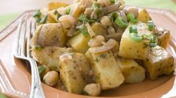 Potato And Chick Pea Curry