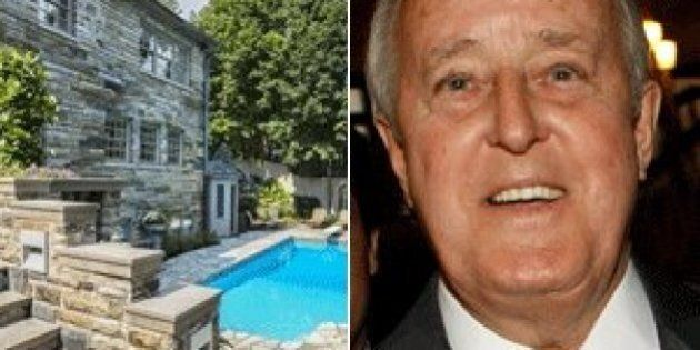 Brian Mulroney's Mansion In Wealthy Montreal Suburb For Sale