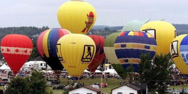 High River Hosts Canadian Hot Air Balloon Championships