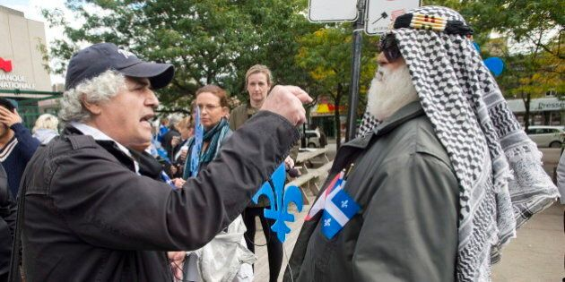 Quebec Values Charter Rally In Montreal Draws Hundreds Of