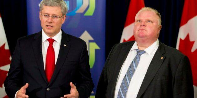 Harper Says Ottawa Will Help Expand Toronto's Subway