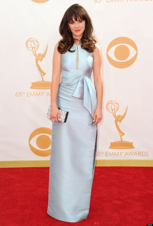 Zooey Deschanel Emmys 2013: 'New Girl' Star Leaves Us Feeling Cold On Red Carpet