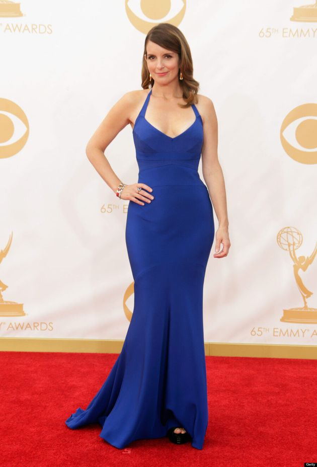 Tina Fey Emmys 2013: 'Thirty Rock' Star Looks Super Hot On Red Carpet