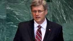Harper Snubs UN..