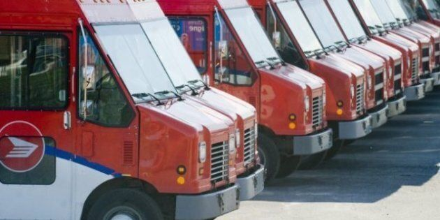 Canada Post Earnings Fall