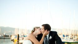 Real Wedding: Beachy Nuptials At A Yacht