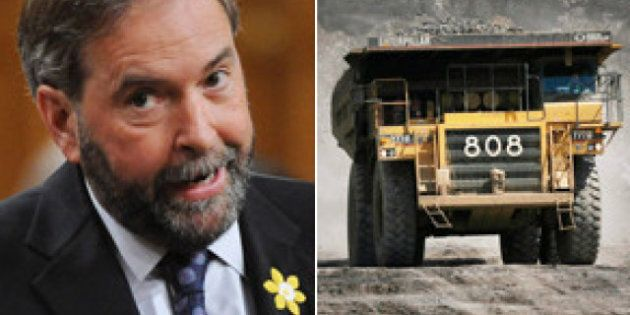 Mulcair Oilsands Trip Unlikely To Put An End To His Dutch Disease