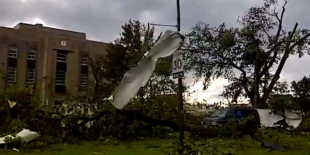 Goderich Tornado: Ontario Town Devastated, One Person Killed In Severe Storm (VIDEOS,