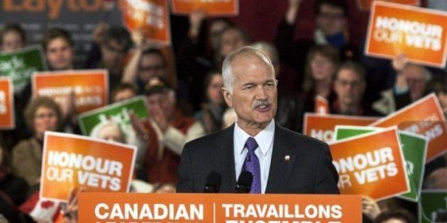 Jack Layton Dead: Twitter Reacts With Condolences, Eulogies For NDP