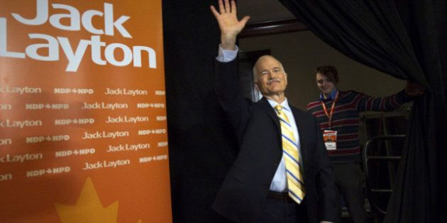 Jack Layton State Funeral Saturday, Condolence Books Available At NDP