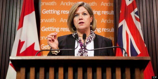Andrea Horwath Called 'Great Pumpkin' By Ontario PC Delegate, Tim Hudak Reportedly Says