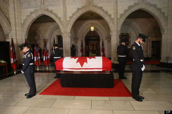 Jack Layton State Funeral: Body Lies-In-State In House Of Commons, Headed To Toronto City