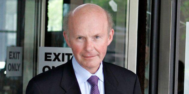 UNITED STATES - JUNE 25: Peter Atkinson, former vice president of Hollinger International Inc., leaves...