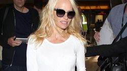 Pamela Anderson Breaks Fashion
