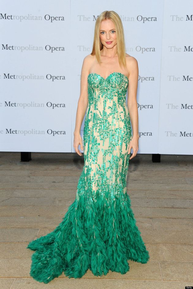 Heather Graham Channels The Little Mermaid At The Opera