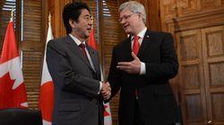 Japanese PM, Harper Agree On Energy, Disagree On