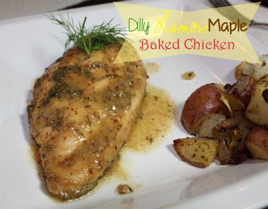 RECIPE: Dilly Lemon & Maple Baked