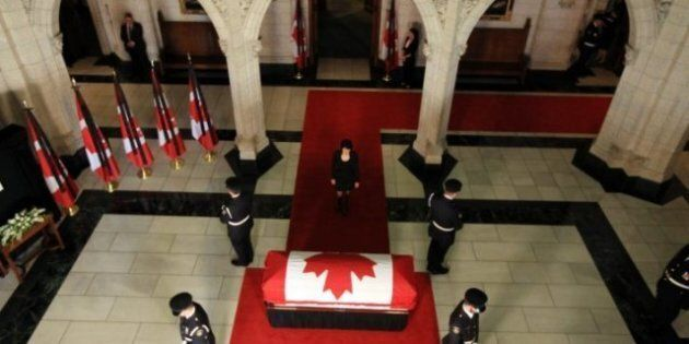 Jack Layton Funeral: Coffin Headed To Quebec, Toronto Later