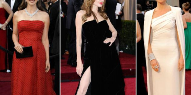 Oscar 2012 Fashion Trends: Shiny, Red And White All
