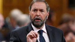 Mulcair Silent On Party Breaking Political Financing