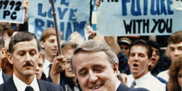 Brian Mulroney, Former Prime Minister, Shines On Parliament