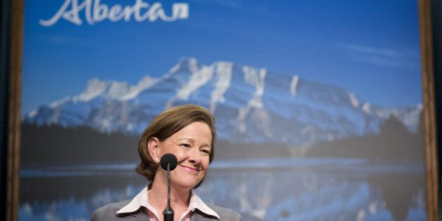 Alison Redford: Provincial Budget Won't Be Balanced On The Backs Of