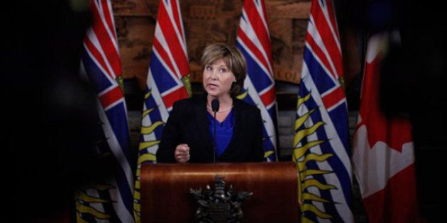 Christy Clark Letter To Alison Redford: Let's Chat Northern