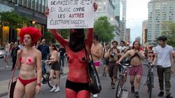 Nude Protesters Rev Up, Police Crack Down On Grand Prix