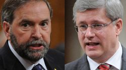 WATCH: Mulcair's Message To