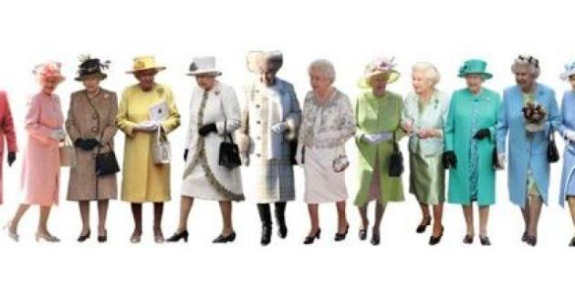 A Pantone Colour Guide To Queen Elizabeth's Style