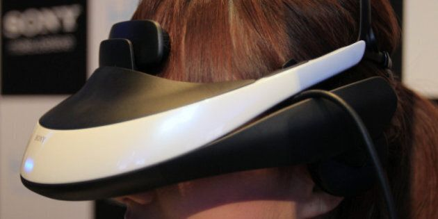Sony's HMZ Personal 3D Viewer An All-Purpose, Head-Mounted Entertainment