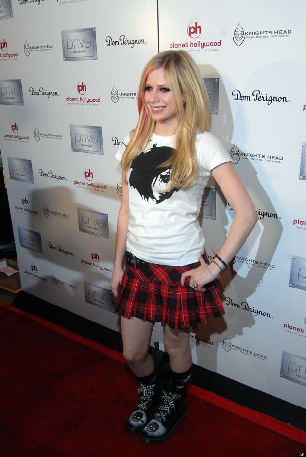 Avril Lavigne's Style Hasn't Changed Since She Was A Teenager