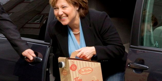 Poll Suggests Christy Clark Trending