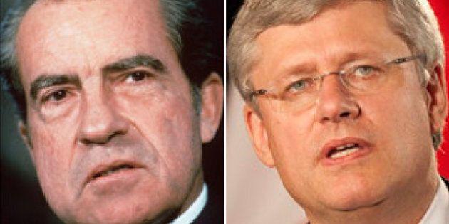 Harper Wins Richard Nixon Prize, Not A Good