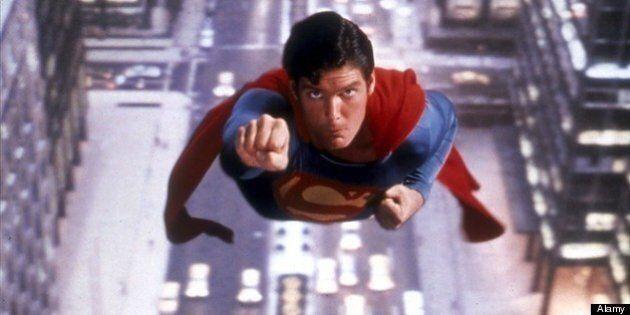 Superman, Superwoman Battle At Skytrain Station