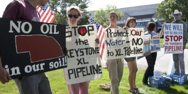 Keystone XL Protest: Naomi Klein, Native Protesters