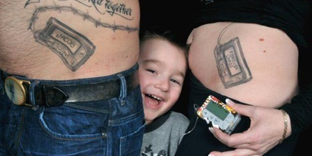 Diabetes: Parents Get Belly Tattoos To Support Son With Type 1