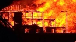 Massive Edmoton Condo Fire Engulfs Entire